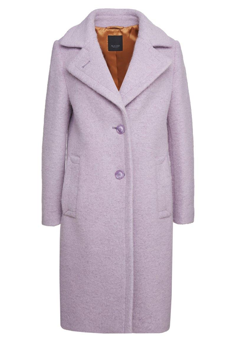 Sand Copenhagen - COLD DYED CLARETA LONG - Classic coat - soft purple
