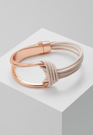 SELMA - Bracelet - rosegold/cream