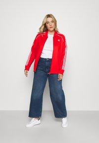 adidas Originals - TRACKTOP - Giacca sportiva - red - 1