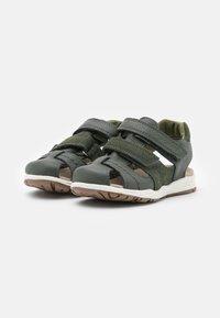 Viking - OSCAR UNISEX - Walking sandals - dark green - 1