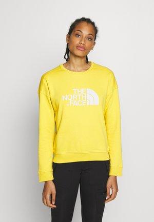 DREW PEAK CREW - Sweatshirt - bamboo yellow