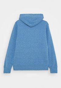 Converse - CHUCK PATCH FULL ZIP HOODIE  - Zip-up hoodie - coast heather - 1
