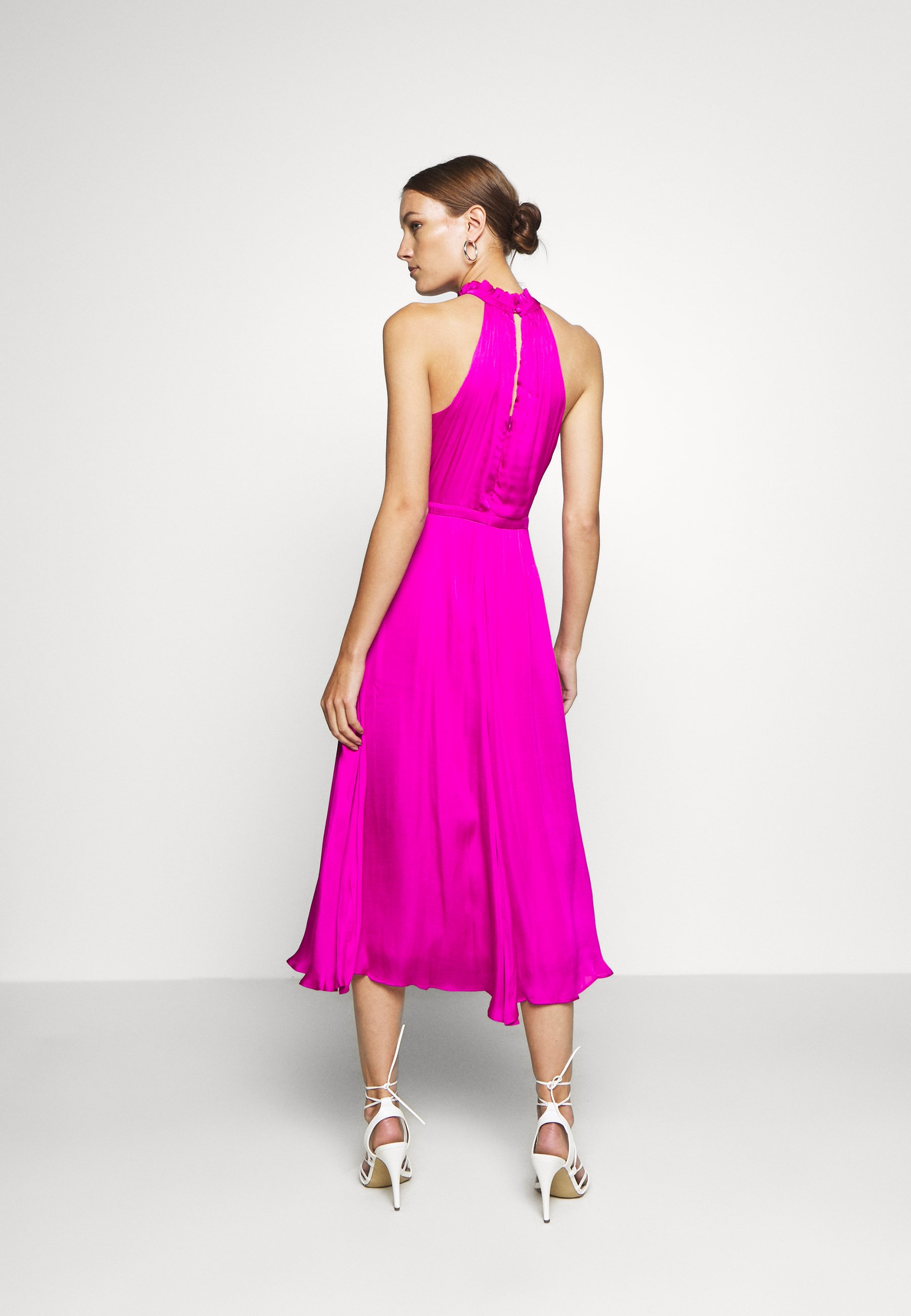 Banana Republic HALTER MIDI Freizeitkleid hot bright pink/pink