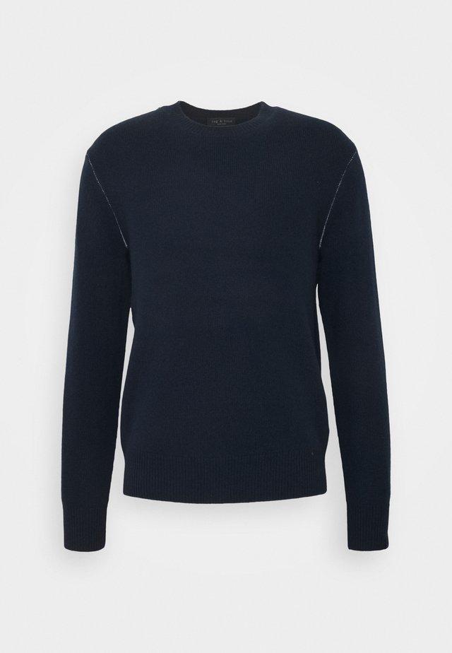 HALDON CREW - Pullover - navy