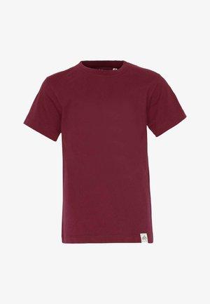 BASIC - Basic T-shirt - bordeaux