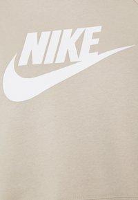Nike Sportswear - CROP - Sweatshirt - rattan/white - 2