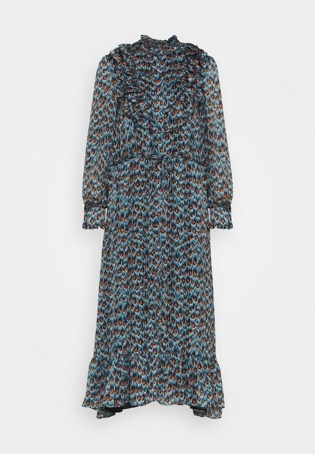 FIA DRESS - Day dress - dusty blue/taupe