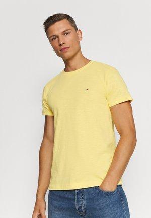 SLUB TEE - Basic T-shirt - sun ray