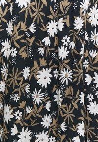 Marks & Spencer London - FLORAL SKIRT - A-line skirt - dark blue - 2