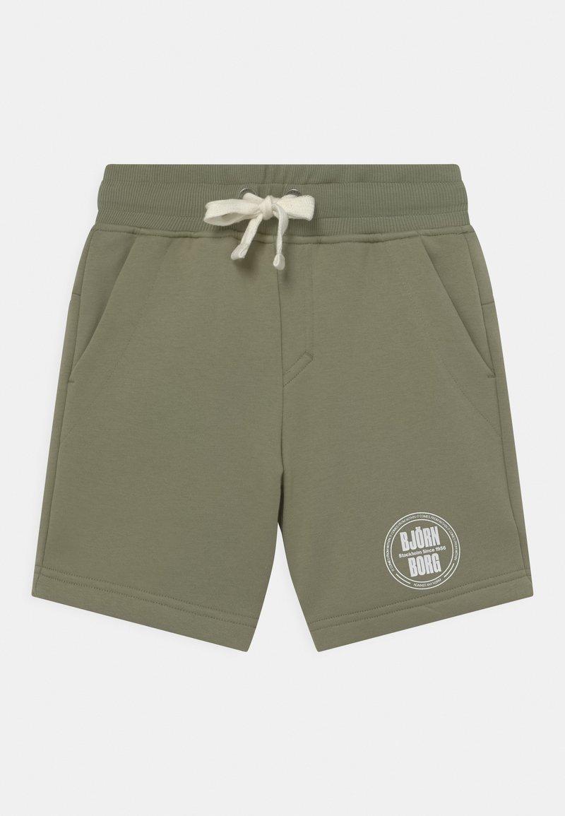 Björn Borg - SPORT UNISEX - Sports shorts - oil green