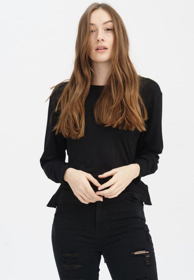 ADRIANE - Long sleeved top - black