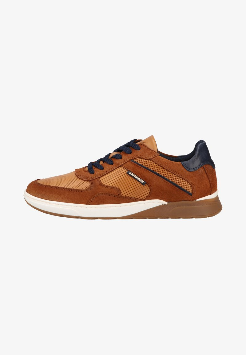Sansibar Shoes - Sneakers laag - mittelbraun