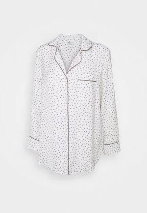 PIPING SHIRT - Haut de pyjama - glacier grey