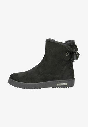 Støvletter - black suede