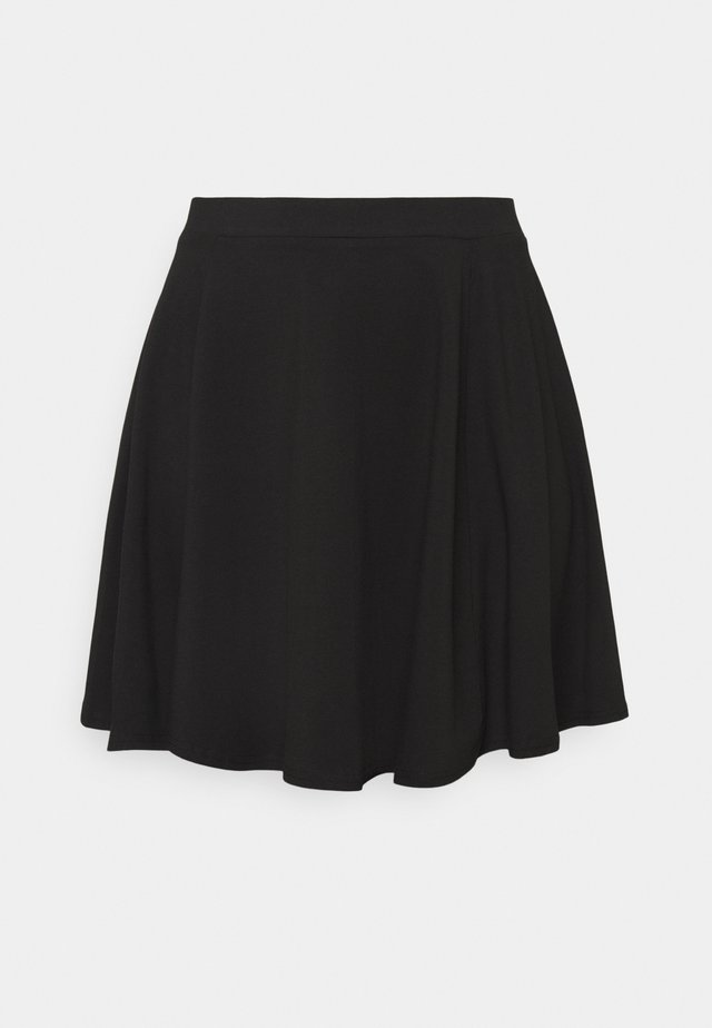 CIRCLE SKIRT - Jupe trapèze - black