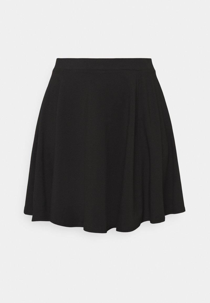 New Look Curves - CIRCLE SKIRT - A-line skirt - black