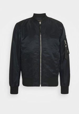 MANSTON - Bomber bunda - black