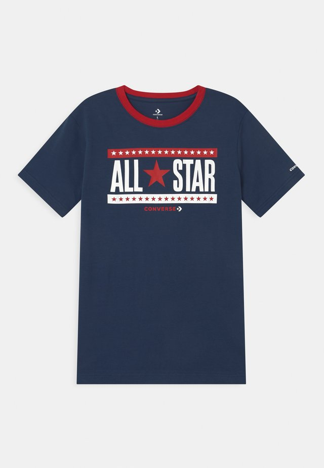 STARS AND STRIPES - T-shirt con stampa - navy
