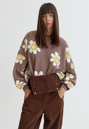 MIT MARGERITE - Sweatshirt - brown