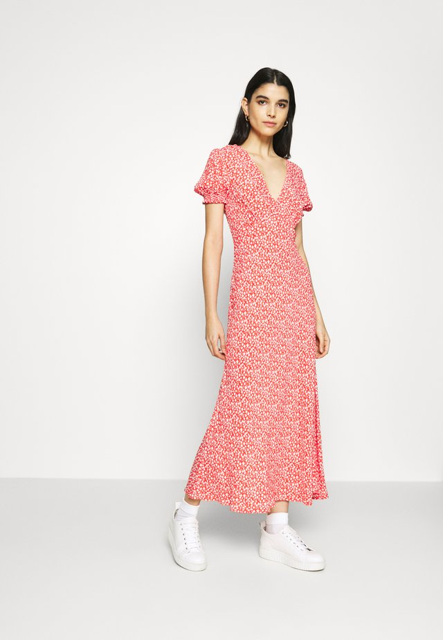 POET DRESS - Day dress - red