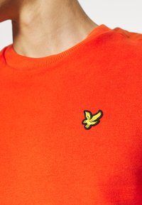 Lyle & Scott - RIPSTOP PANEL - Sweatshirt - burnt orange - 4