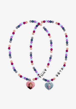 Set aus mit Frozen Anna-Motiv, Frozen Elsa-Design, Herz-Form - Necklace - multi