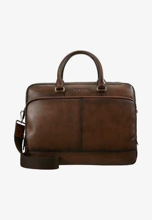 BRIEFBAG LARGE - Salkku - brown