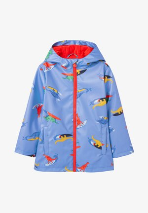 SKIPPER - Waterproof jacket - freibad blau