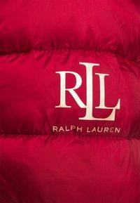 Lauren Ralph Lauren - MATTE FINISH SHORT JACKET - Light jacket - red - 6