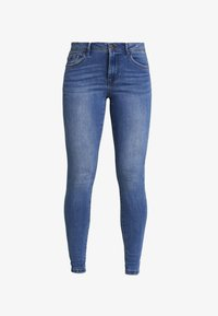Vero Moda - VMTANYA PIPING - Jeans Skinny Fit - medium blue denim - 3