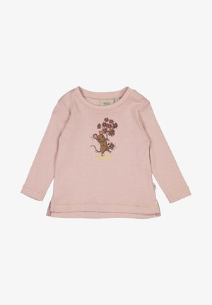 Flower Mouse - Longsleeve - rose powder