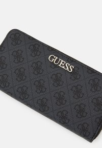 Guess - LARGE ZIP AROUND - Wallet - coal - 3