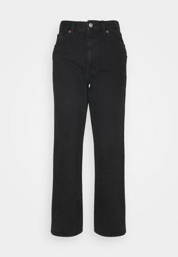 Straight leg -farkut - black dark