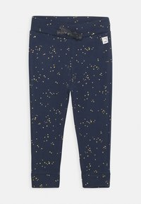 Noppies - SLIM FIT PANTS GARIES - Trousers - black iris - 0