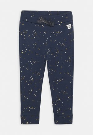 SLIM FIT PANTS GARIES - Broek - black iris