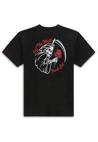 Vans - MN FRESH CUT SS - Print T-shirt - black - 1