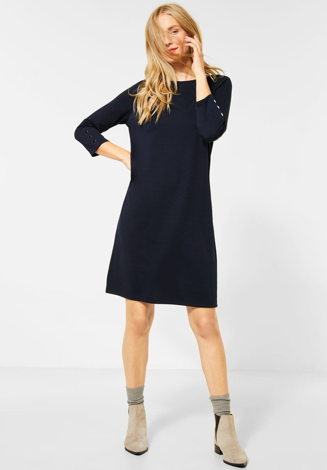 Jersey dress - blau