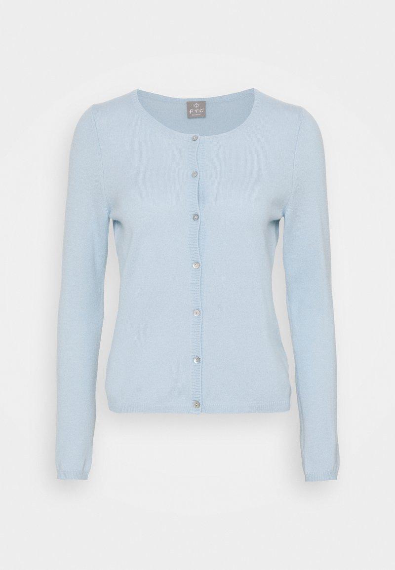 FTC Cashmere - CARDIGAN - Cardigan - alaskan blue