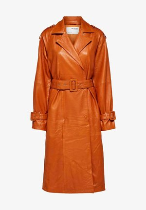 Trenchcoat - orange pepper