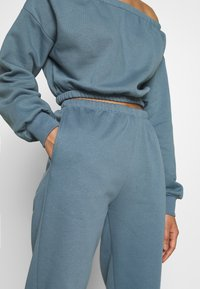 Nly by Nelly - COZY PANTS - Tracksuit bottoms - blue - 4