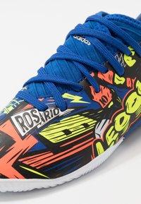 adidas Performance - NEMEZIZ MESSI 19.3 - Indoor football boots - royal blue/silver metallic/solar yellow - 2