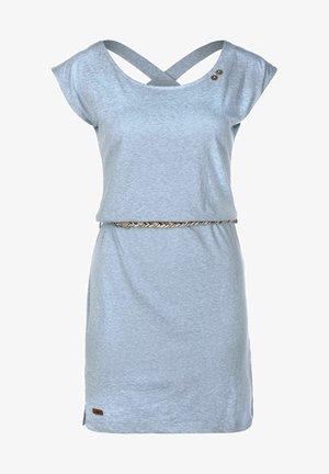 SOFIA - Jersey dress - dusty blue