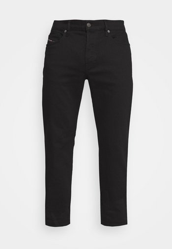 D-MIHTRY - Straight leg jeans - black