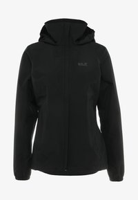 Jack Wolfskin - STORMY POINT JACKET  - Kurtka Outdoor - black - 9