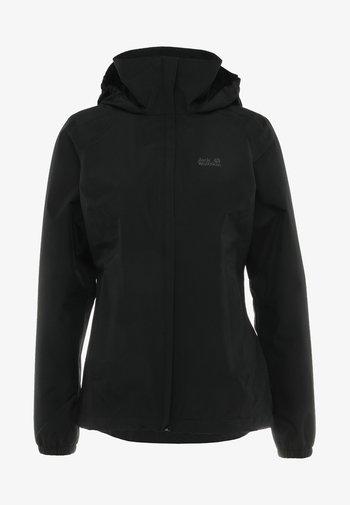 STORMY POINT JACKET W - Waterproof jacket - black