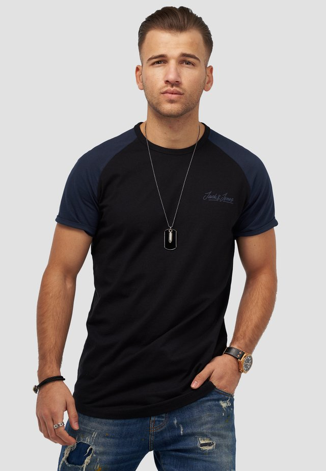 JORHUNTER - Print T-shirt - black