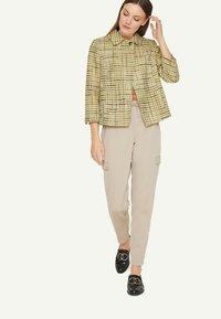 comma - Light jacket - spring green jaquard - 1