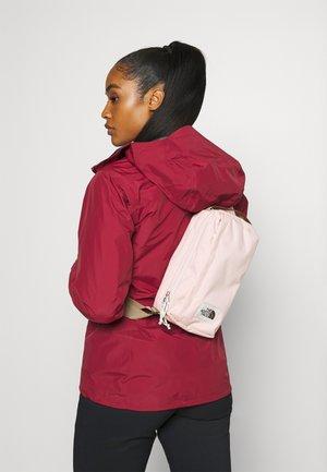 FIELD BAG - Across body bag - mottled light pink/brown/off white