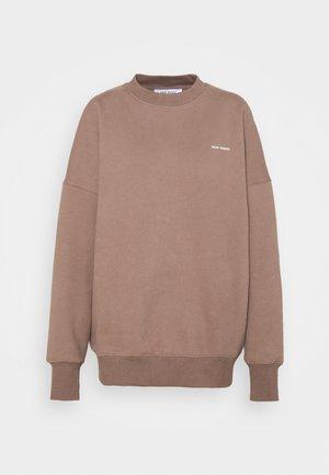LOGOCREWNECK - Sweatshirt - majorbrown