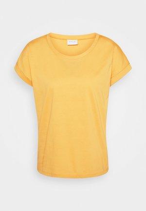 VIDREAMERS PURE - Basic T-shirt - spicy mustard